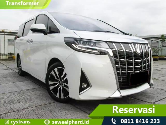Sewa Toyota New Alphard Jakarta
