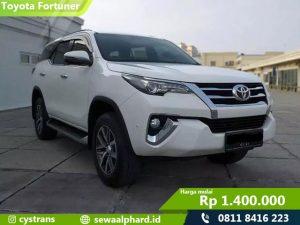 Sewa Mobil Fortuner VRZ Jakarta
