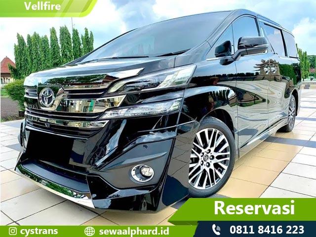Sewa Toyota New Vellfire Jakarta
